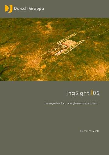 IngSight 06 - December 2010 - dorsch.de