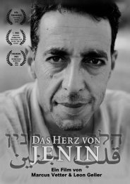press Info - german (PDF) - Cinema Jenin