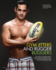 GYM JITTERS AND RUGGER BUGGERS - Will Fennell