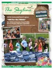 """100 for the 100th"" - Girl Scouts of Virginia Skyline Council"