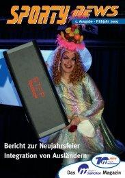 Bericht zur Neujahrsfeier Integration von Ausländern - Team München