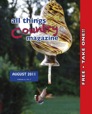 August 2011 - All Things Country Inc