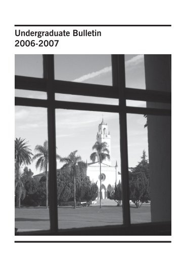 Undergraduate Bulletin - Loyola Marymount University