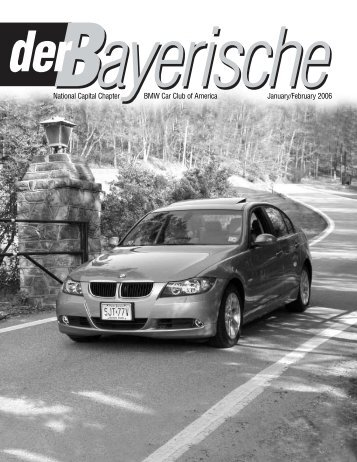 National Capital Chapter BMW Car Club of America January ...
