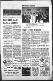 DOES FRED CAIN HAVE A LICENSE? - Wilmington Town Crier