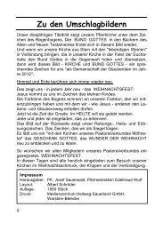 Jahresrückblick 2012 - Pastoralverbund Möhnetal