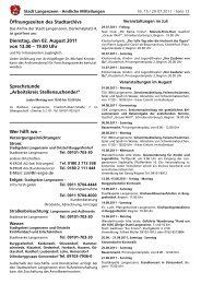 Ausgabe Nr. 15 vom 29.07.2011 Teil 2 - Langenzenn