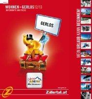 Wohnen in Gerlos - Zillertal Arena