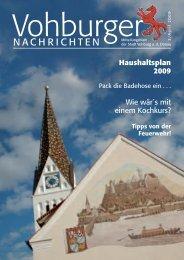 NACHRICHTEN - Stadt Vohburg