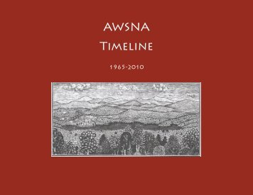 AWSNA Timeline - Research Institute for Waldorf Education