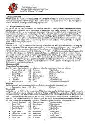 Jahresbericht 09 - Turnverband Bern Mittelland