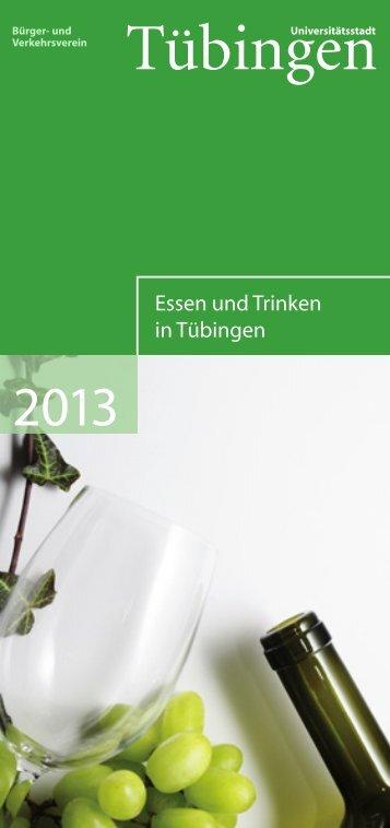 Gastronomieführer - in Tübingen