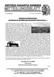 40. Jahrgang N r.129 / Juni 2000 Einladung zur Bildersuchfahrt am ...