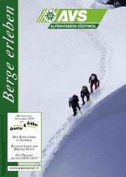 """ALPINIST2010-2013"" - Alpenverein Südtirol"