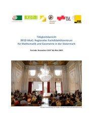 Tätigkeitsbericht RFDZ‐MuG - Regionale Fachdidaktikzentrum für ...