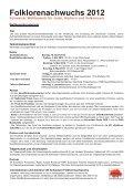 Folklorenachwuchs 2012 Wettbewerbsreglement und ... - Seite 2