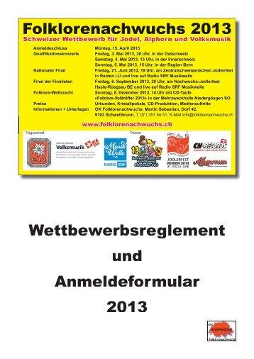Wettbewerbsreglement Folklorenachwuchs 2013.pdf - Schweizer ...