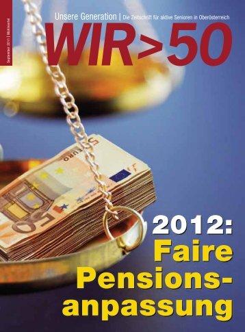 Ansehen - Pensionistenverband Oberösterreich