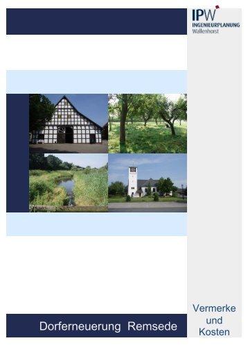 Dorferneuerungsplan - Teil II - Gemeinde Bad Laer