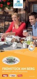 Frühstück am Berg - Blattlhof