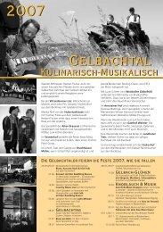 *Flyer Gelbachtal 2007 - Fischerhof