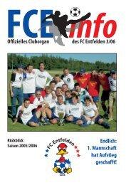 FCE-Info / Ausgabe Nummer 3/2006 - FC Entfelden