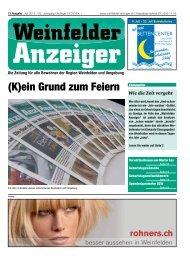 Ausgabe Nr. 13 – 27.06.2012 (8 MB) - Weinfelder Anzeiger
