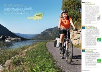 Radeln zwischen Fluss und Genuss - Bett+Bike