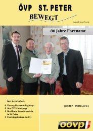 80 Jahre Ehrenamt - sankt-peter.ooevp.at