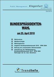 Bundespräsidentenwahl 2010 - Klagenfurt