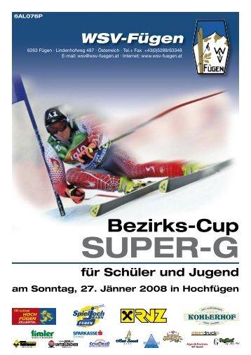 SUPER-G - Tiroler Skiverband