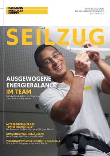 Seilzug September 2012 - Baumann Koelliker Gruppe