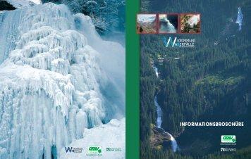 INFORMATIONSBROSCHÜRE - Krimmler Wasserfälle