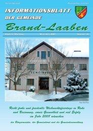GEMEINDEZEITUNG - 36 - Dezember 2007 (2,1 MB) - Brand-Laaben