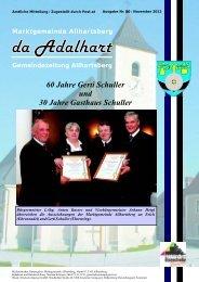 60 Jahre Gerti Schuller und 30 Jahre Gasthaus Schuller