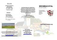 Gastgeberverzeichnis 2012 - Brombachtal