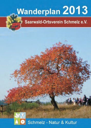 Wanderplan zum Download (6MB)!!! - Saarwaldverein Schmelz