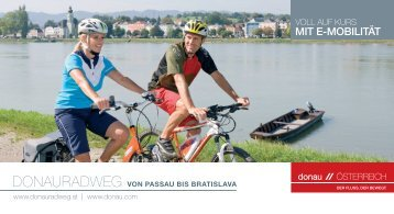 mit e-mobilität - Donau Oberösterreich