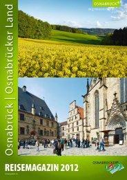 Reisemagazin 2012 - Stadt Osnabrück