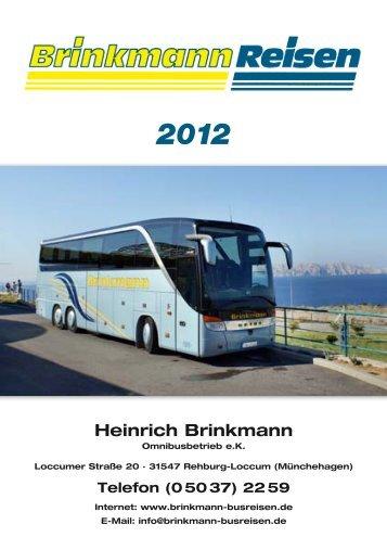 Heinrich Brinkmann - Brinkmann Busreisen