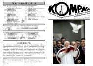 Kompass Ausgabe 3 / Mai 2007