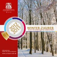 Winterzauber 2012/2013 - Landratsamt Roth