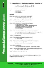 Veranstaltungsprogramm - Sachsen-Anhalt