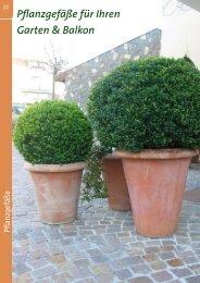 Pflanzgefäße für Ihren Garten & Balkon - Kiebitzmarkt