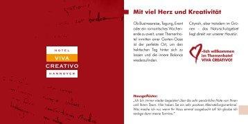 Hotelprospekt (PDF) - Viva Creativo