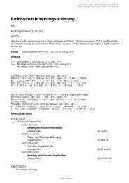 Reichsversicherungsordnung - Gesetze im Internet