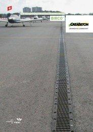 BIRCO® Entwässerungssysteme - Creabeton Materiaux AG