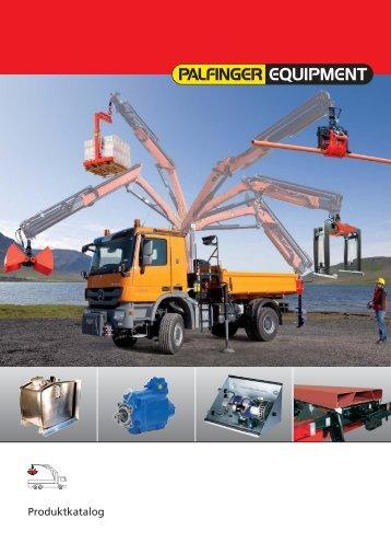 PALFINGER Equipment Katalog Download