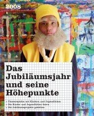 Beilage zum Jahresbericht 2008 - Stiftung Schloss Regensberg