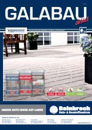 Galabau-Aktuell Ausgabe 3/2012 - Beinbrech GmbH & Co. KG